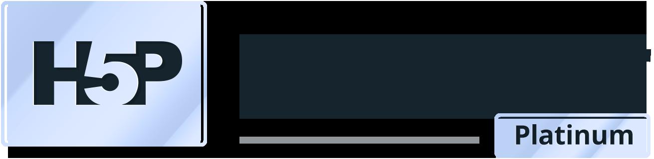 H5P platinum supporter logo (color)
